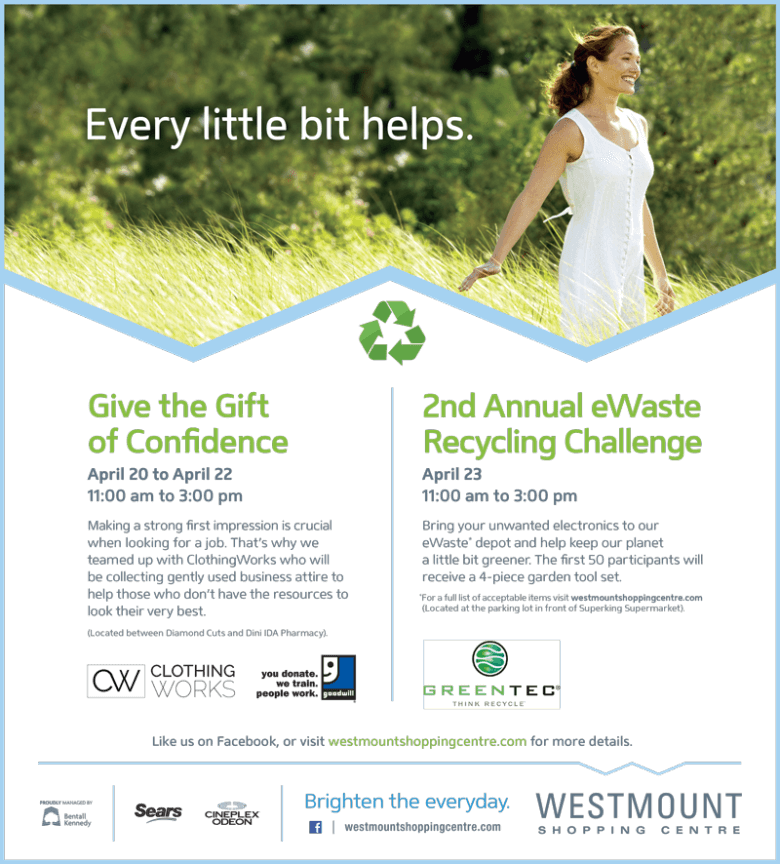 Earth Week Donation Drive
