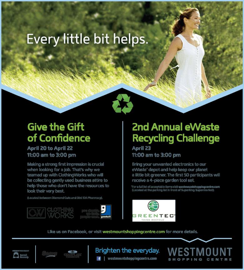 Earth Week Donation Drive