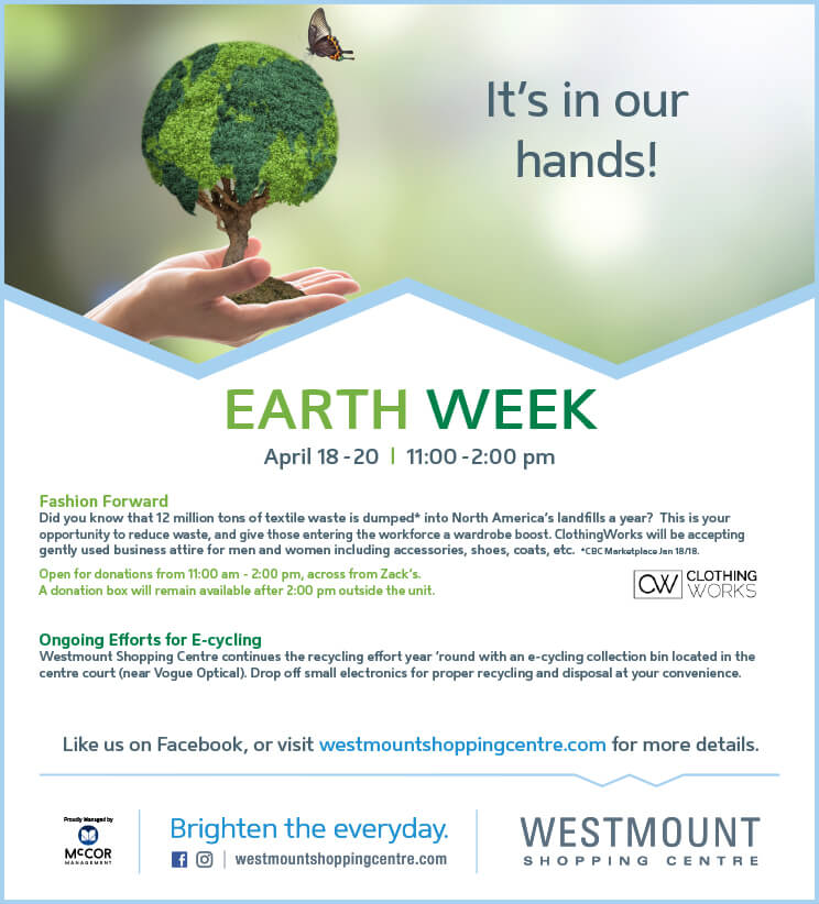 Earth Week ClothingWorks Drive