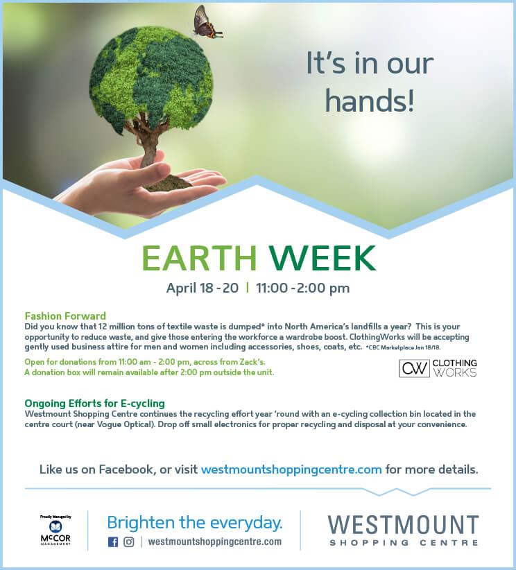 Earth Week ClothingWorks Drive