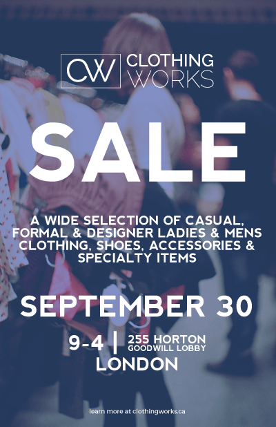 clothingworks september sale
