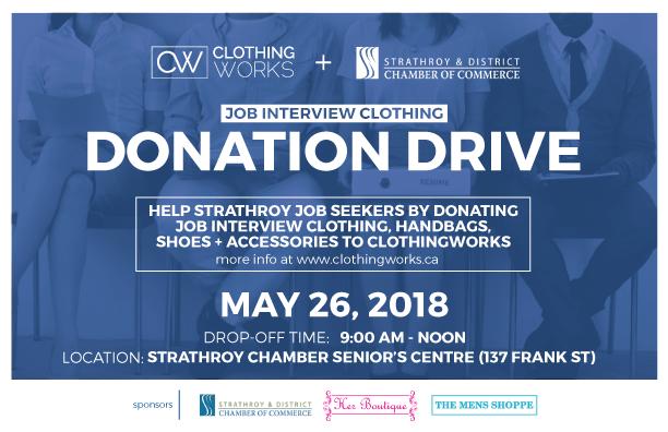 Strathroy Chamber Donation Drive
