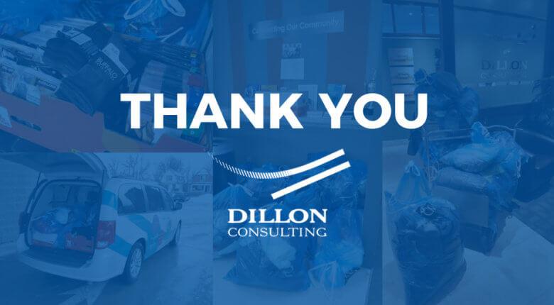 Dillon Consulting Donation Drive