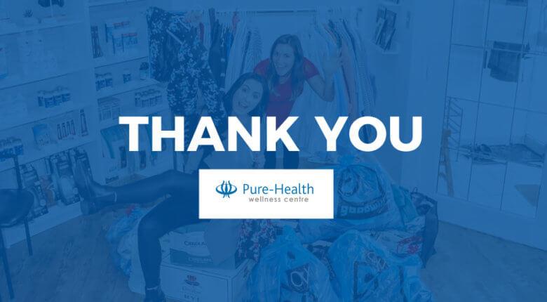 Pure-Health Wellness Centre Donation Drive