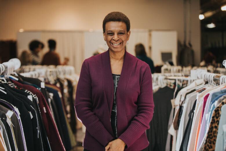 ClothingWorks Volunteer: Shirley